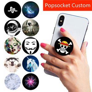 Dağı Pipsocket Genişleyen Telefonlar Evrensel El Telefon Tutma Pops Tutucu Cep Soket Esnek gasbag için Fabrika Toptan Özel LOGO