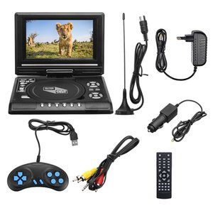7.8 Inch Portable Car DVD Player USB HD TV Home Car DVD Player VCD MP3 CD Player Portable Cable Game 16:9 Rotate LCD Screen