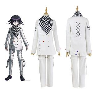 Anime Danganronpa V3 Ouma Kokichi Cosplay giapponese gioco School Uniform Suit Outfit