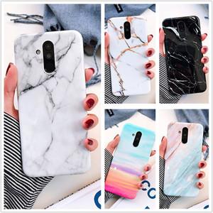 HUAWEI P20 라이트 대리석 핸드폰 케이스 노바 3i 3 메이트 20 라이트 Iphone X 삼성 S10 소프트 TPU 뒷 표지