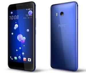 Téléphone portable déverrouillé simple / double carte SIM d'origine pour HTC U11 64GB / 128GB Octa Core 5.5inch 12MP 4G LTE
