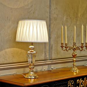 Modern minimalist E27 kristal masa lambası yatak odası başucu lambası yaratıcı düğün masa lambası oturma odası dekoratif tablo ışık LR004