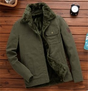 Solide Herren Farbe hinzufügen Samtjacke beiläufige Mens-Revers-Ansatz-Mäntel lose Winter-Epaulet Outwear Fashion Business-Kleidung