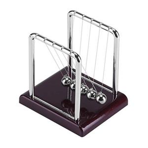 Newtons Cradle Balanza de Acero Decoración de Muebles para el hogar Columpio Las Bolas Artes Física Ciencia Escritorio Juguete Regalo de navidad C6846