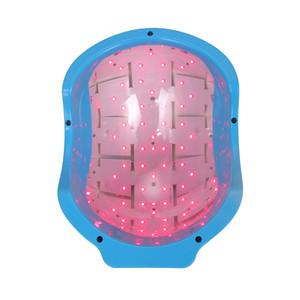 2019 mais novo crescimento de crescimento de perda de cabelo 80 diodos tratamento a laser portáteis uso doméstico Cap capacete LED dispositivo de terapia de alopecia beleza instrumento