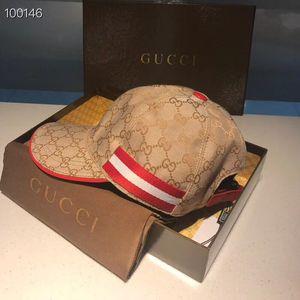 2020 Luxury Caps Новая весна Тигр шаблон письма Hip Hop Болл Caps Мужчины Женщины Шляпы Бейсбол Snapback Cap Street Style Нет Box 2020803P