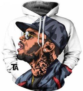 Весна хип-хоп пуловер с длинным рукавом Мужские толстовки мода Мужская одежда рэпер 2Pac 3D печати Мужские толстовки