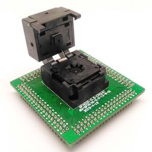 Freeshipping QFN28 MLF28 WLCSP28 DIP28 Programlama Soket Adaptörü Pitch 0.5mm IC Vücut Boyutu 5x5mm IC550-0284-011-G Kapaklı Test Soketi