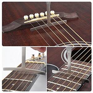 9pcs Understring Radius Accessories Bass String Guitar Gauge Repair Measure T Shape Luthier Builder Stainless Steel Instruments
