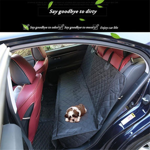 Capa de carro distintivo Capa de assento de assento de malha impermeável Pet Carrier Carro traseiro traseiro Assento Mat Hammock almofada almofada protetor
