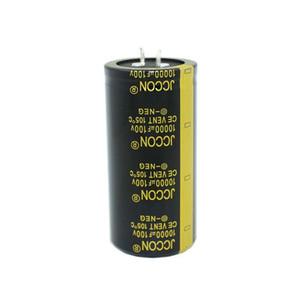 JCCON horn aluminum electrolytic capacitor 100v10000uf volume 35x70 Inverter power