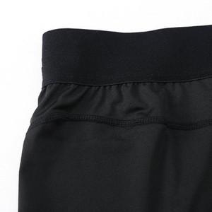 Yuerlian Erkekler Spor Sıkıştırma Şort Hızlı Kuru Vücut Kısa Pantolon YY