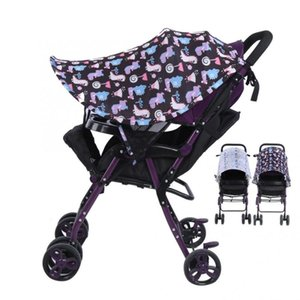 UV 보호 유모차 차양 커버 통기성 야외 아기 자동차 유모차 차양 커버 범용 액세서리