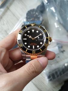 Heißer Verkauf Mann-Uhr-Edelstahl-Uhren Mann Armbanduhr Gold Silber Ton zwei schwarzes Gesicht 120
