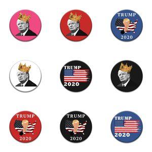 Krusty, o palhaço Paródia Trump emblema bonito Simpsons Pin dos desenhos animados Anime Broche Pop Backpack Jacket Acessório # 875