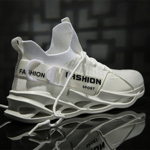 Air Mesh-Mann-Turnschuh 2020 neue Blade-Sole Mode Schuhe Schnalle Breathable Sport-Turnschuhe Sommer Leichte Walking-Schuhe