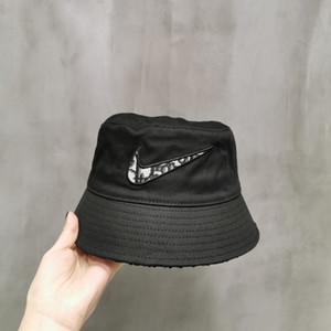 Cappello del progettista di marca Cotone Lettera di lusso In delle donne degli uomini pieghevole Secchio Caps pescatore Beach Sun Visor vendita pieghevole Man Cap BB162