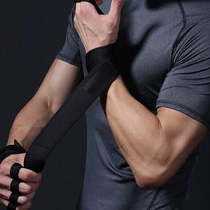 Respirant Anti Slip Gym Gants Bodybuilding Haltérophilie Fingerless Sport Gants Gym Accise Sports Fitness Gant pour Femmes Hommes