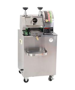 SICAK SATIŞ Toptan Yüksek Verim Tablosu / Masa Tipi Gıda Sıhhi Paslanmaz Çelik Elektrik Şeker kamışı Sıkacağı Makinesi