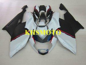 Kit carénage de moto sur mesure pour BMW K1200S 05 06 07 08 K1200S 2005 2008 ABS Blanc noir carénages set + cadeaux BA01