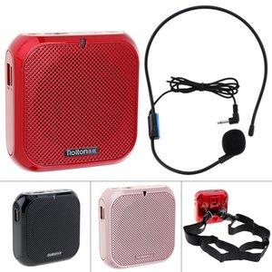 Rolton K400 3 색 휴대용 유선 미니 오디오 스피커 확성기 음성 증폭기 스피커 마이크 허리 밴드 클립 PMP_80R