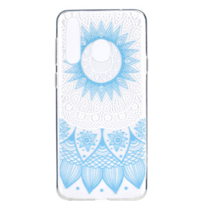 For Huawei Honor 20i Case Cover Transparent Soft TPU Colour decoration Tower bike Butterfly Girl Mobile Phone Cases