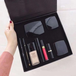 Dropshipping High Quality New Cosmetics Concealer Eyebrow Pencil Blush Lipstick Eyeliner Pencil Top Quality Makeup Set Big Box Kit