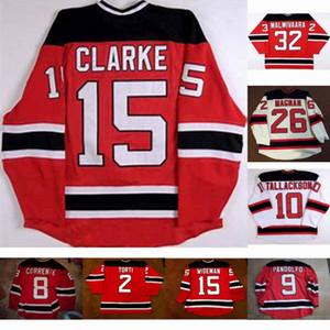 Lowell Devils 10 Barry Tallackson 15 Noah Clarke 2 Matt Torti 14 Pihlman 1 Dave Caruso 29 Grant Marshall 8 Matt Corrente Maglia da hockey