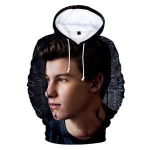 Shawn Mendes Men Hoodies Fashion Designer Spring Autumn 3D Print Sweatshirts Casual Loose Sleeve Couple Clothing