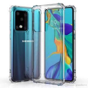 Air Cushion trasparente libero ultra molle del silicone di TPU Case Cover per Samsung Galaxy S20 Ultra S10 E S9 S8 note10 più 9 M10 M20 Anti-drop