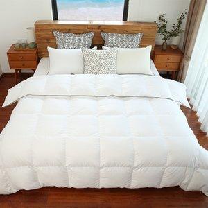 SIDANDA Sonbahar Kış Yorgan% 70% Ördek Aşağı Yorgan Yorgan Eiderdown Yorgan Beyaz Yatak Örtüsü Kral Boyutu Tüy