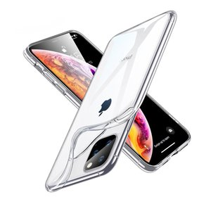 0.3mm Thin TPU Transparent Soft Cover Back Protector Clear Mobile phone Case For iphone 11 Pro XS Max X XR 8 Plus