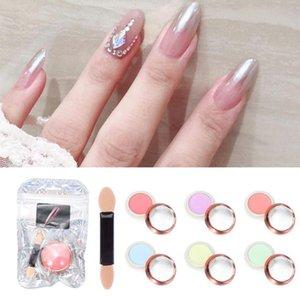 Manicure di arte Mirrior Nail 2020 nuova delle donne di bellezza fai da te Polvere di Fata Aurora Powder Aurora Solid Nail