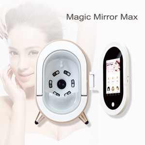 Magic Mirror 3D pele Analyzer Com Pad For Beauty Salon Professional Use Facial Skin Analyzer máquina