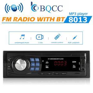 Car Radio Stereo Audio MP3 Player 12V In-dash Single 1 Din FM Receiver Aux Receiver USB Remote