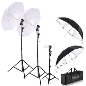 "Fotografia Foto Video Studio fundo stand Prova Kit 33"" Fotografia Umbrella Lighting Kit Professional Photo Video Retrato Estúdio"