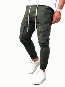 Erkek Hommes Pantalones Spor Casual Tasarımcı Jogger Pantolon İlkbahar Sonbahar Yeni Pantolon