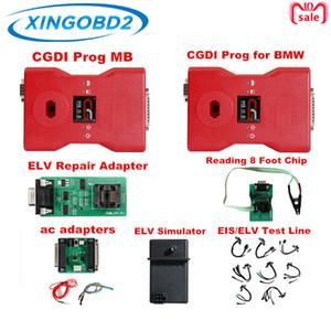 BMW MSV80 용 CGDI Prog 및 Benz Auto Key Programmer 용 CGDI Prog MB 모든 어댑터가 포함 된 전체 세트