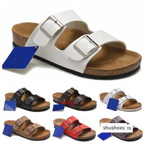 Arizona Hotsell del verano mujeres de los hombres de los planos de las sandalias de los deslizadores de Cork unisex casualshoes imprimir mixta del flip-flop con punta abierta zapatillas sandalias de corcho