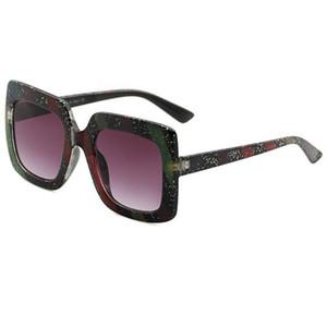 Trendy Luxury Sunglasses Bühnenshow Farblich passende Explosion-Sonnenbrille für Damen und Herren UV400-Schutzbrillen Brillen Sonnenschirme