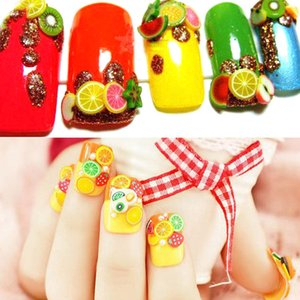 Nail Art Decorations Polymer Slices Sliders Nail Design Accessories Parts Decor Sticker