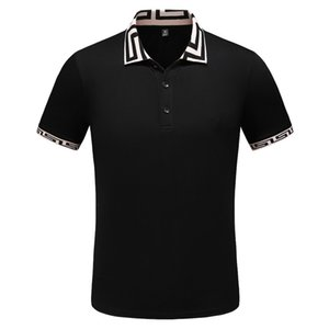 Summer Men's & Women's Polo Shirts Fashion Casual Print High Quality Top Fashion Men Clothing Cotton Blend 4 Styles M-3XL Wholesale