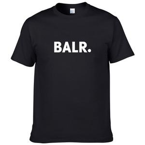 Nuevas camisas de diseñador de camisetas de algodón de manga corta negro masculino Undershirt franja sólido camiseta para hombre verano Ropa de la marca Homme Camiseta Masculina