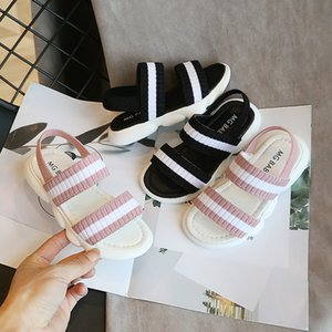 Kids Sandals Boys Girls Sandals Baby Shoes Kids Beach Shoes Children Shoes For Toddler Elastic Sandals Kids Slides