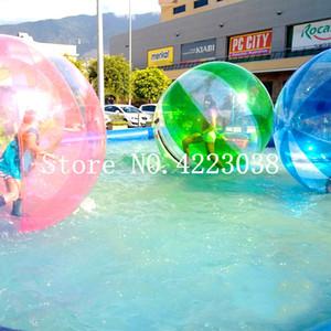 Frete grátis 1,0 milímetros TPU 2.0m Dia de passeio da água bolas gigantes Bola Água Zorb bola Ballon inflável Human Hamster Ball Água