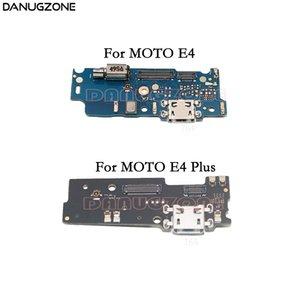 USB 충전 포트 독 플러그 잭 커넥터 충전 보드 플렉스 케이블 (마이크 + 진동기 포함) Motorola Moto E4 Plus
