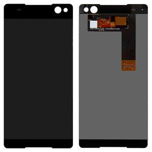 Sony Xperia C5 Ultra Çift için dokunmatik ekran ile LCD E5533 E5506 LCD ekran ekran Digitizer Cam Panel Ön (dokunmatik ekran ile)
