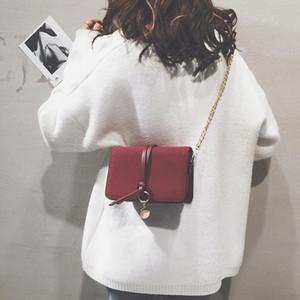 Superior2019 petit chic Fang Baobao femme Han Jianyue Matting Chain épaule simple paquet