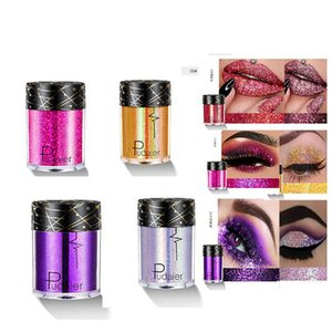 China marca Pudaier colorido lindo Glitter Sombra Diamante Pearlescent Sequins Eyeshadow Palette 34 única cor do brilho Sombra em Pó