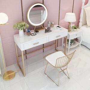 Ev Tabloları Çok Fonksiyonlu Soyunma Masa Ins Kız Yatak Odası Soyunma Masa ve Sandalyeler Yaratıcı Masif Ahşap Soyunma Masası